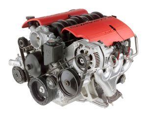 2004 Chevrolet Corvette Z06 57L V8 LS6 Engine  Picture