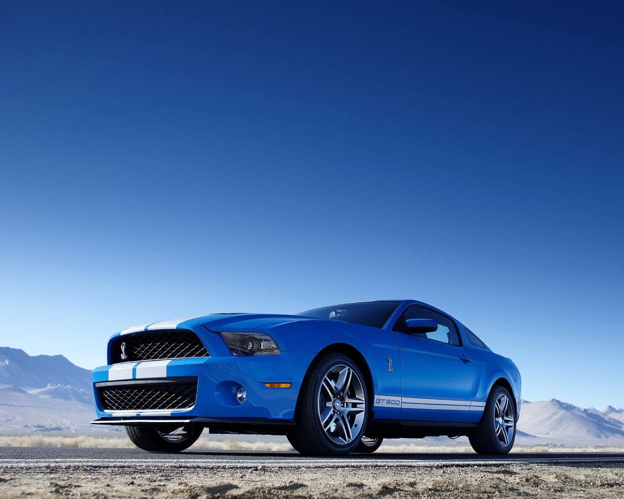Ford Mustang Shelby GT500 Convertible Free 1280x1024