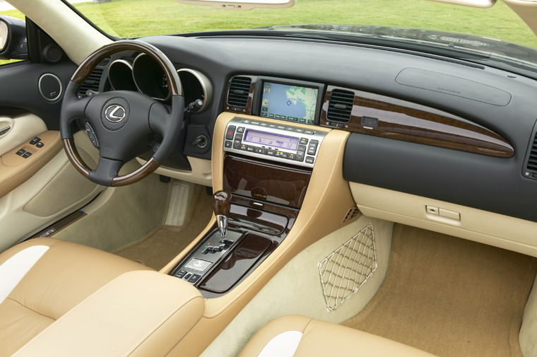 2008 Lexus SC 430 Pebble Beach Edition Interior Picture