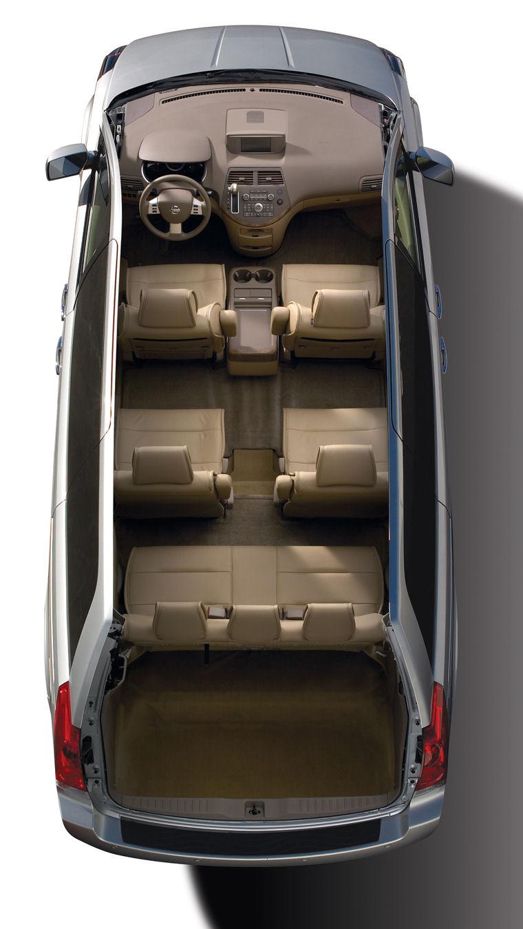 2009 Nissan Quest 35 SL Interior  Picture  Pic  Image