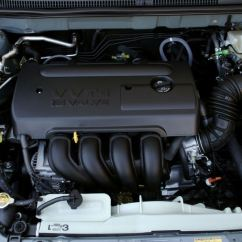 2009 Toyota Corolla Alternator Wiring Diagram 3 Speed Ceiling Fan Switch 2006 Le 1 8l 4 Cylinder Engine Picture Pic Image