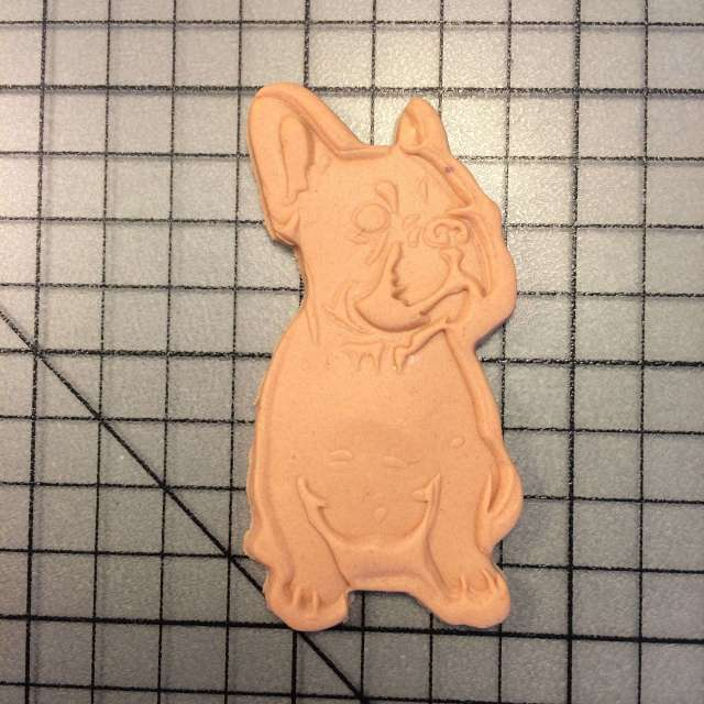 french bulldog 100 cookie cutter and stamp