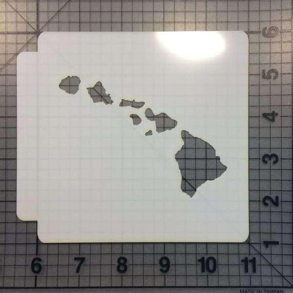 Hawaii Stencil 100