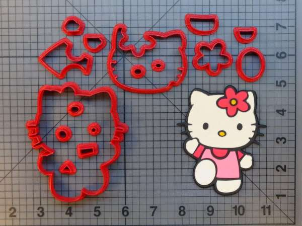 Kitty 266-624 Cookie Cutter Set