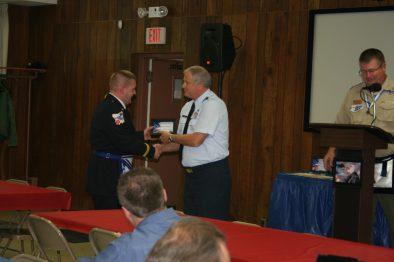 Danny Bainum is recognized