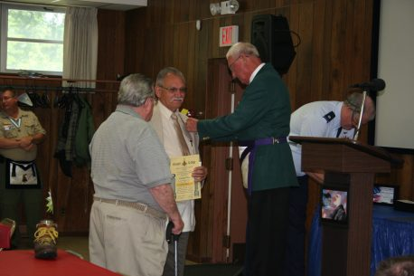 Lincoln Day receives 50 year pin