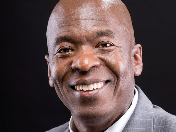 Headshot for African American businessman and entrepreneur in Colorado Springs, CO