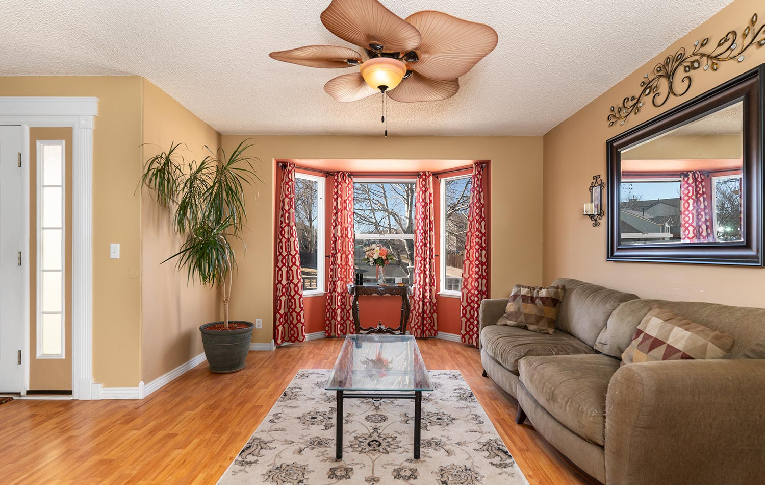 Real Estate photo of living room in Colorado Springs Home