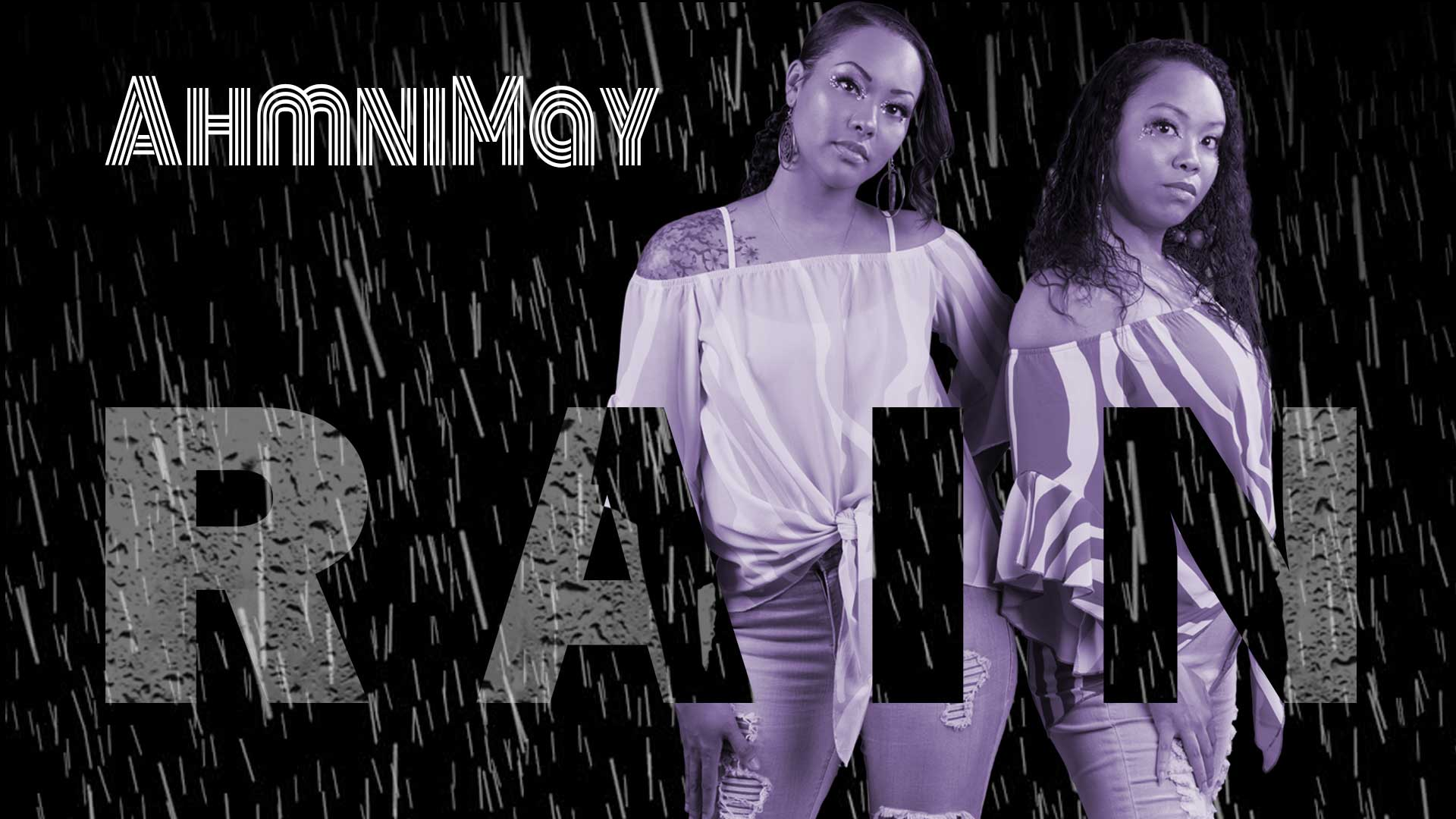 Music video for a sister duo singing their original song rain with accompanying keyboardist