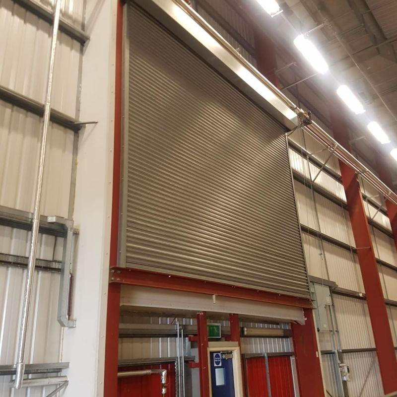 Industrial roller shutter doors supplier and installer across Northern Ireland NI