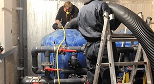 Commercial Sand Filter Service