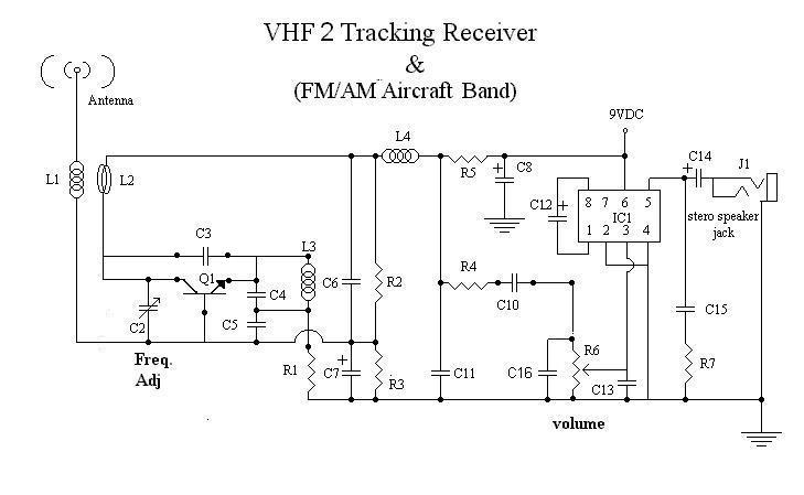 simple am receiver circuit diagram wiring for garage consumer unit vhf tracking and aircraft band