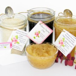 JBHomemade Natural Rosemary Eucalyptus Sugar Scrub Sugaring Paste Full Bundle