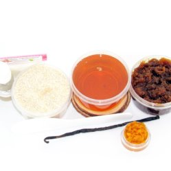 JBHomemade Natural Pumpkin Vanilla Brown Sugar Scrub Sugaring Wax Starter Kit