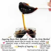 Sugaring paste hair removal – thicker hair, Natural sugaring 8 oz