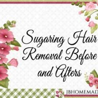 Sugaring Before and Afters