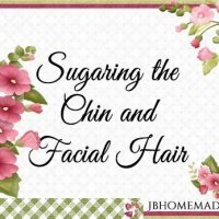 Sugaring the Chin and Facial Hair