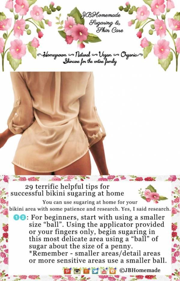 JBHomemade Sugaring the Bikini 29+ terrific helpful tips for success