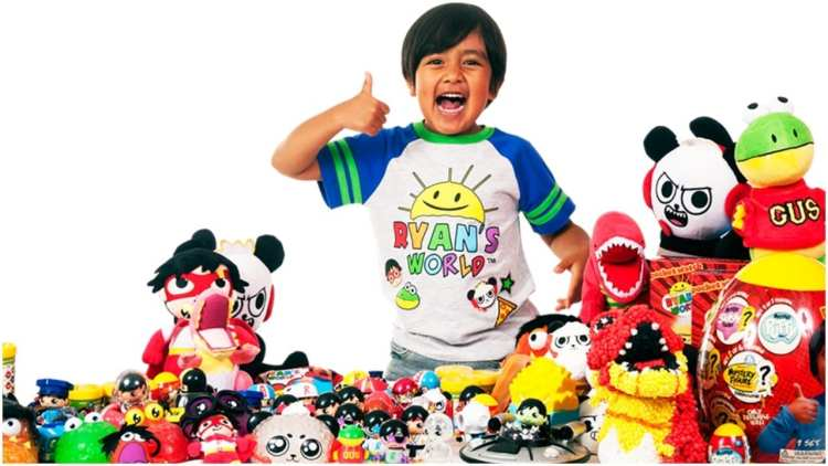 Ryan ToysReview #1 list of top 10 highest paid YouTubers for 2018.