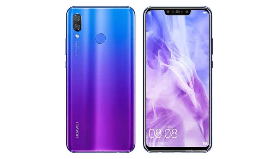 Huawei Nova 3....list and specs of prominent phones Huawei released the previous year, 2018 - alongs side with their prices