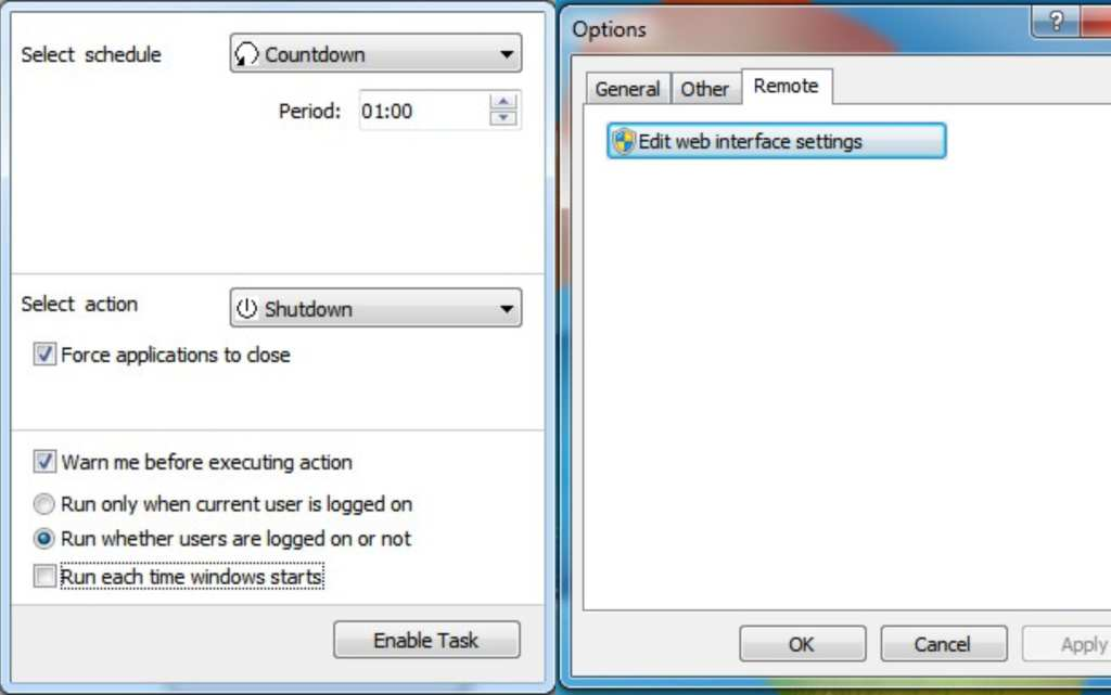 How to shutdown your laptop with your smartphone remotely 1