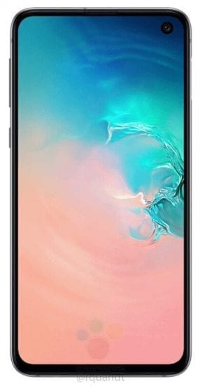 Samsung Galaxy S10E - front -- Samsung is bringing a low-cost version of the Galaxy S10 called the Galaxy S10E. the price of the phone will start from $859 (about ₵4300)