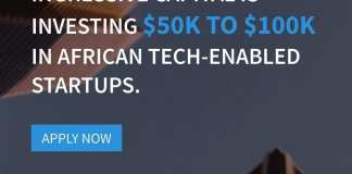 Ingressive Capital, a venture fund, has launchded an online platform for African tech startups to apply for fundraising in Sub-Saharan region