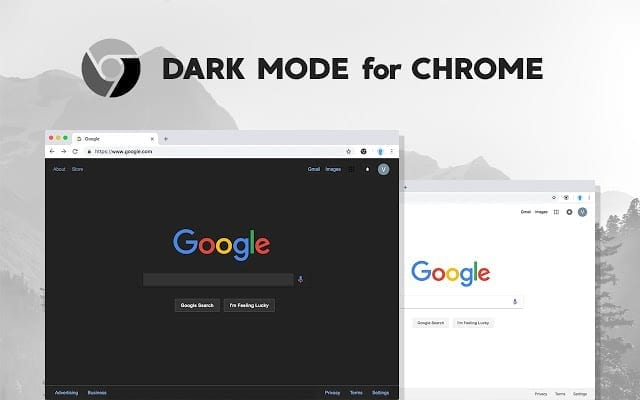 how to activate dark mode feature in the Google Chrome browser