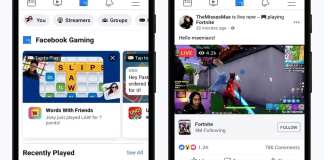 Facebook has added a dedicated gaming tab to its mobile app,