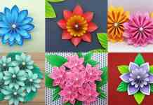 Learn how to make extra money with 3D paper flower craft