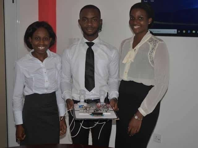 KNUST students develop a monitoring panel to check the energy consumed by electrical devices