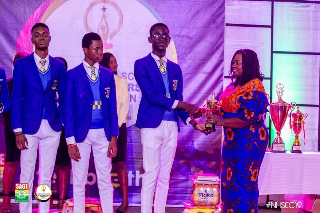 SAGE – National high school entrepreneurship competition 2019 2