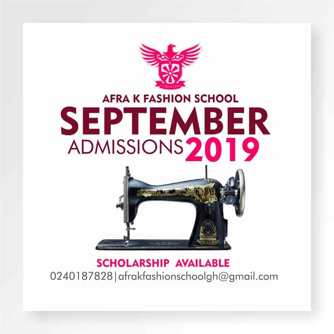 afra k fashion school scholarship