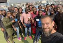 Twitter CEO Jack Dorsey Visits Nigeria On Tour