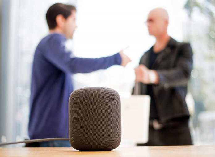 Apple's HomePod can recognize your voice