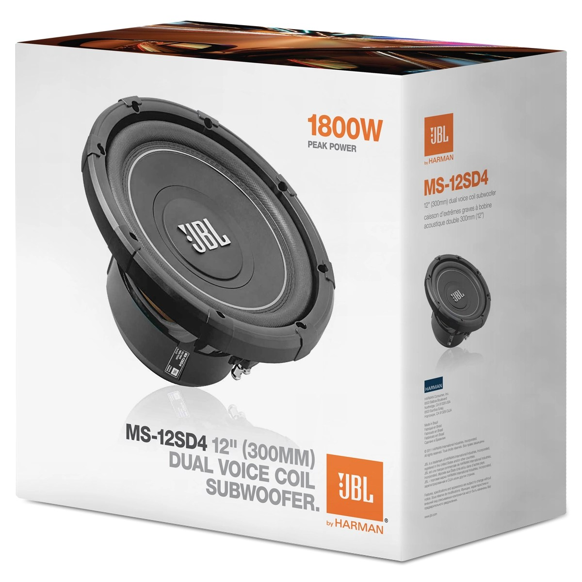 dual voice coil subwoofer box bass pickup wiring diagrams ms 12sd4 1800 watt 12 4 ohm what s in the