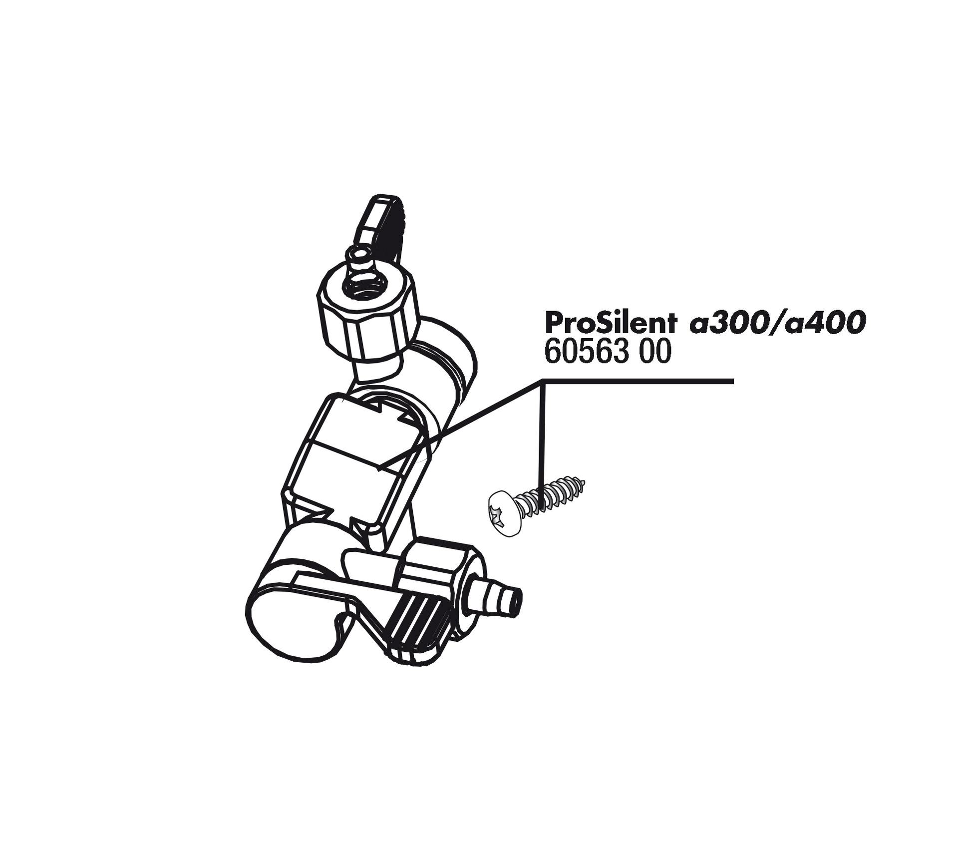 JBL ProSilent a300/400 air connection