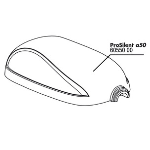JBL ProSilent a50 upper body part