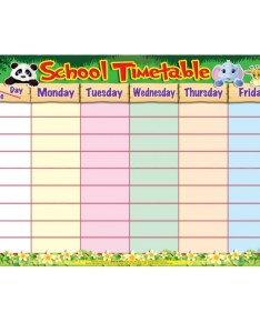 School timetable education chart mm also wholesale rh jbldistribution