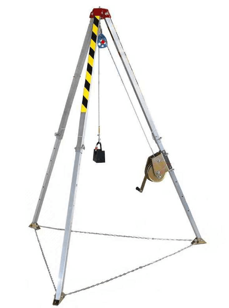 INDUSTRIAL SAFETY CONFINED SPACE RESCUE TRIPOD