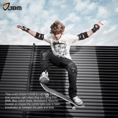 Chair Gym Workout Videos Office Lazy Boy Buy Jbm Bmx Bike Knee Pads And Elbow With Wrist Guards Protective Gear Set Black Online ...