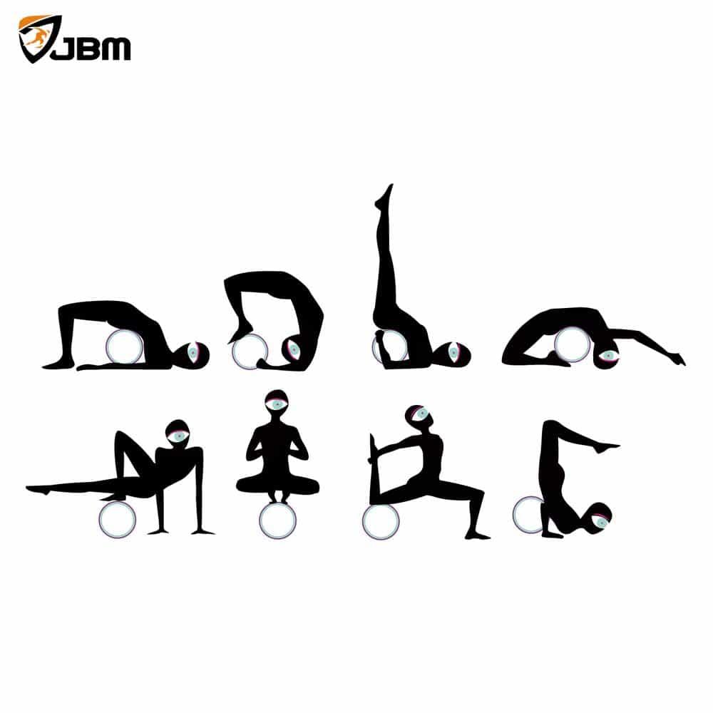 elbow chair stool folding gunde buy jbm yoga wheel for stretching and improving backbends, bridge pose, dharma pose ...