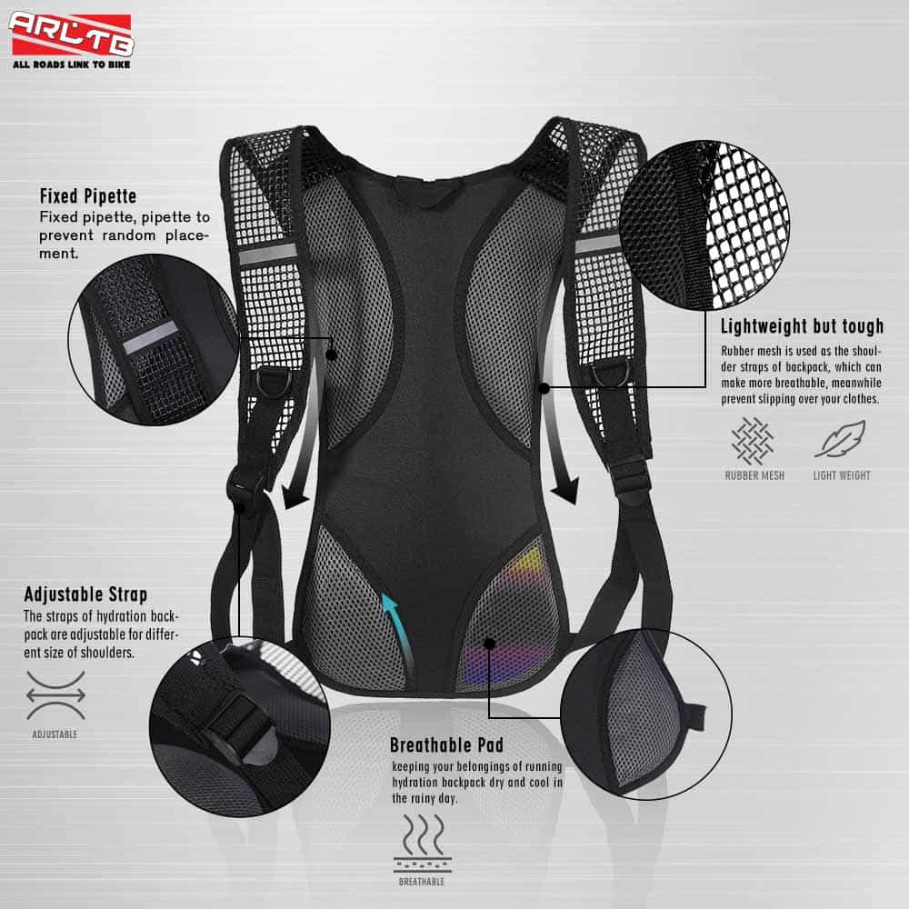 elbow chair stool mobo mount buy arltb 2l (70 oz) hydration pack (5 colors) backpack running cycling ...