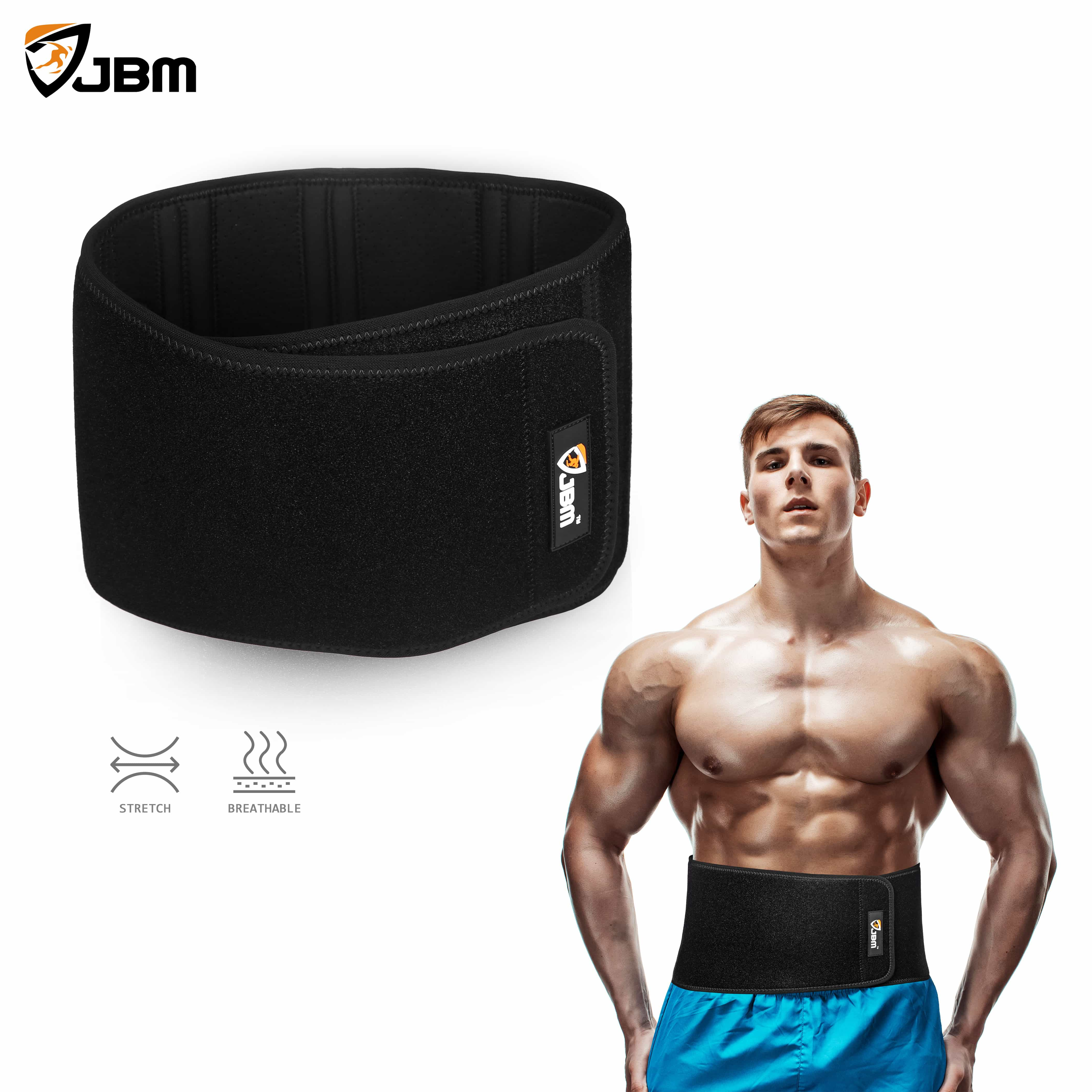 chair gym weight loss what is a sofa buy jbm adjustable waist trimmer belt wrap cincher for men & women help with ...