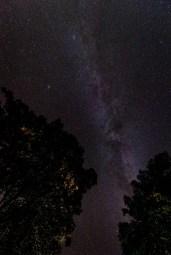 Sternenhimmel mit Milchstraße