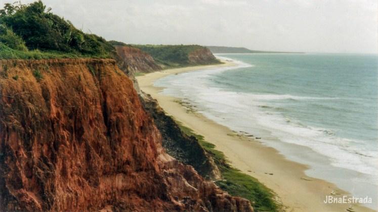 Brasil - Alagoas - Jacarecica do Sul - Falesias da Praia do Gunga