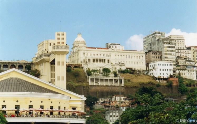 Brasil - Bahia - Salvador - Elevador Lacerda e Mercado Modelo