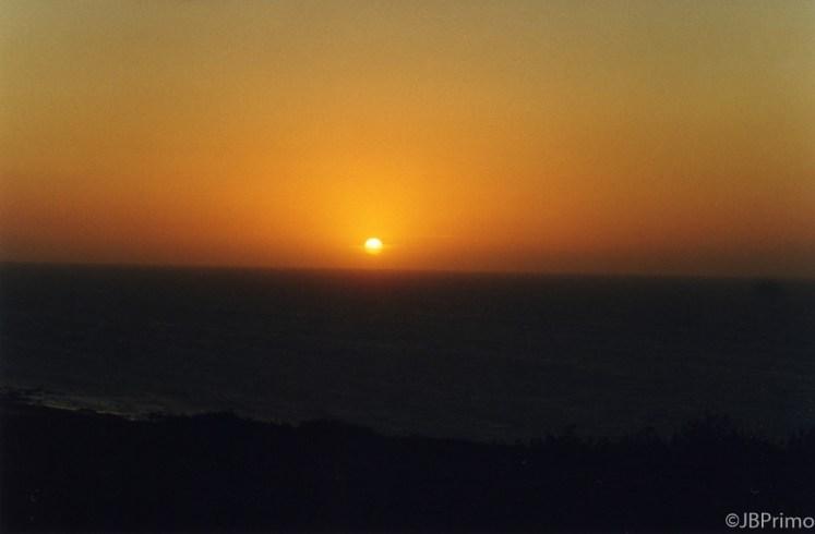 Brasil - Ceara - Jericoacoara - Por do Sol do alto da duna