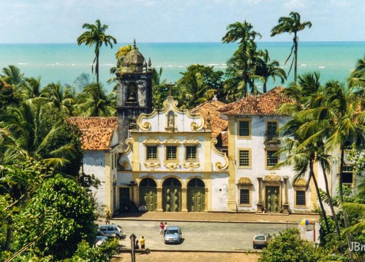 Brasil - Pernambuco - Olinda - Igreja de Nossa Senhora das Neves, Capela de Santa Ana e Mosteiro de Sao Francisco