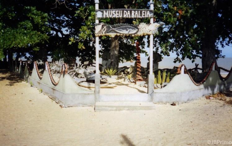Brasil - Bahia - Caravelas - Praia de Grauca - Museu da Baleia